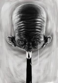 Mr. Angry by Alex Liki, via Behance