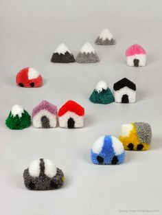 TO DIY OR NOT TO DIY: CIDADE DE POMPONS!