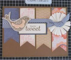 card by Sara Batkin using CTMH Claire paper