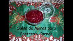 Cocina Real Free Salsa de Moras para Postres y Carnes