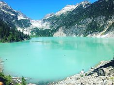 The Underrated Blanca Lake Trail In Washington Leads To A Hidden Turquoise Lake Oh The Places You'll Go, Places To Travel, Places To Visit, Washington Lakes, Washington State, Hood Canal Washington, Washington Hiking, Washington Mountains, Everett Washington
