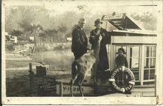 Deer welcoming committee at Silver Springs Florida 1934.