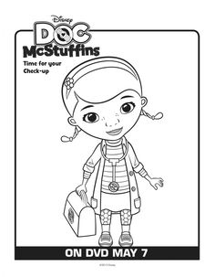 Doc McStuffins printables