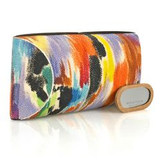 Loving this Celestina clutch - stingray, hand-painted... Awesome experience to meet the designer ;D