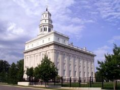 Nauvoo Temple of The Church of Jesus Christ of Latter-Day-Saints (Mormons).  Nauvoo, Illinois.  There is a LOT of church history here in this city on the Missouri River!