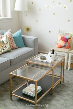 Top 10 Best Coffee Table Decor Ideas | Ikea vittsjo, Marbles and Tables