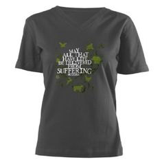 Amazon.com: Buddha Vine - Animals T-Shirt Vegan Women's V-Neck Dark T-Shirt by CafePress: Clothing