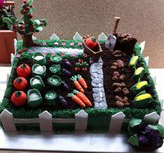 Garden/farmers cake.