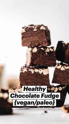 Raw Desserts, Sugar Free Desserts, Healthy Dessert Recipes, Chocolate Desserts, Just Desserts, Delicious Desserts, Vegan Recipes, Eat Healthy, Gluten Free Sweets