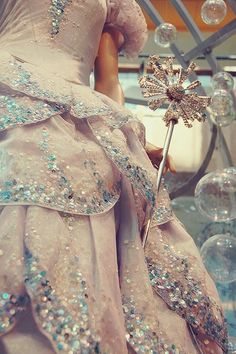 total princess fairy gown and wand.