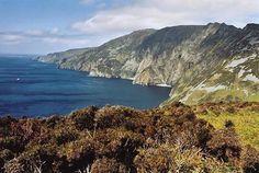 601 Meter sind die Klippen von Slieve League in Irlands nördlichstem County Donegal hoch