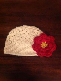 18-24 month old floral hat $13