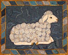 I don't do rug hooking, but this is too beautiful not the share!