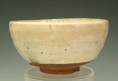"""This is the museum-quality collectable masterpiece of genuine Madara-Karatsu (speckled katatsu ware) tea bowl,  with the potter's sign Koyama Fujio """"Kozanshi"""" (1900-1975).   There is no finer chawan in existence."""