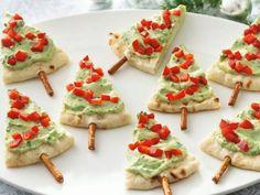 Hummus/pita trees