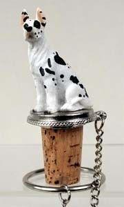Great Dane Bottle Stopper (Harlequin)
