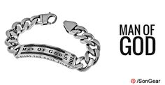 "Cable Bracelet ""Man Of God"" on SonGear.com"