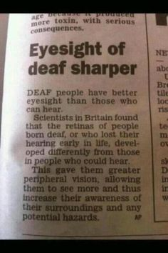 """For all the people who ask """"Can Deaf people drive?"""""""