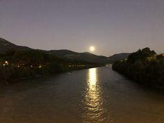 Blick von der Nonntaler-Brücke Richtung Südosten Salzburg, River, Outdoor, Environment, Outdoors, Outdoor Games, The Great Outdoors, Rivers