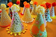 sunshine party hats