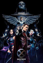 X-Men: Apocalypse (2016) Action, Adventure, Fantasy | 27 May 2016 (USA)