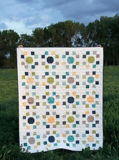 """Spot On Quilt Pattern 