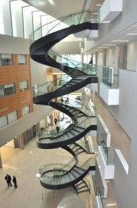Circular Stair Stringer by Chicago Metal Rolled Products