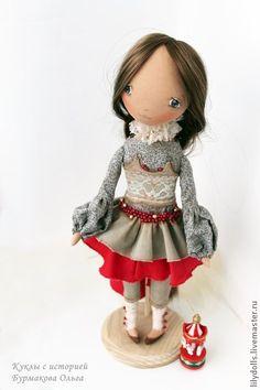 Коллекционные куклы ручной работы. Ярмарка Мастеров - ручная работа Кукла с историей-Мишель. Handmade.