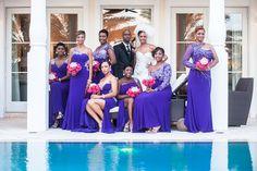 Purple Wedding Ideas - An Elegant Royal Winter Wedding in Nassau, Bahamas - Munaluchi Bridal Magazine