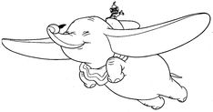 """It is hard to believe just how old the Dumbo Disney animated movie is - it was made in 1941. Dumbo was the 4th film made by Disney and is based on a story  written by Helen Aberson and illustrated by Harold Pearl. The main character is Jumbo Jr. an elephant who is  nicknamed """"Dumbo"""" and  ridiculed for his big ears. Here's a cute Dumbo coloring page :)"""