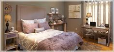 Guest Room Doubles as Home Office - Lowe's Creative Ideas