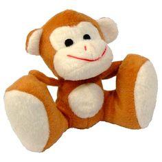 Macaco de Pés Grandes com Barulho Squeaker Pet Fit - MeuAmigoPet.com.br #petshop #cachorro #cão #meuamigopet