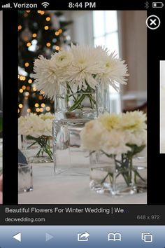 Winter wedding flower ideas