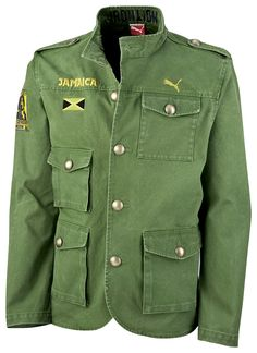 Iron Lion Military Jacket… YES Please! Puma + Cedella Marley + Jamaica