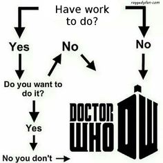 doctor who or work