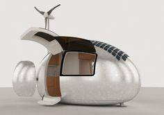Queste capsule mobili ed eco-sostenibili saranno le case del futuro
