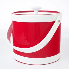 Springtime 3qt Bucket Red now featured on Fab.