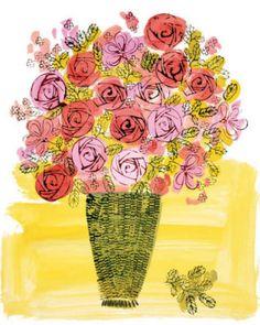 Basket of Flowers, 1958