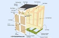 lean to shed plans PDF download guide