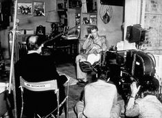 """vintage everyday: 20 Interesting Behind the Scenes Photos of Alfred Hitchcock's """"Rear Window"""" (1954)"""