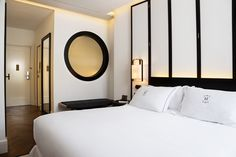 Gran Hotel Montesol Ibiza, Curio Collection by Hilton Kitchen Interior, Room Interior, Theme Hotel, Marriott Hotels, Guest Room, Hospitality, Ibiza, Badass, Wall