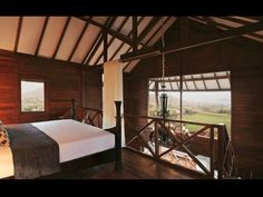 Luxury Chalet interiors at The Oxford Golf and Country Club, Pune.