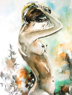 Hey, I found this really awesome Etsy listing at https://www.etsy.com/uk/listing/195309777/figurative-watercolor-print-woman-figure