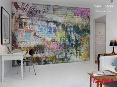 Rebel Walls / individuel angefertigte - hochwertig und ausgefallene schwedische Tapeten: ausgefallene Wand & Boden von vanHenry interiors & colours