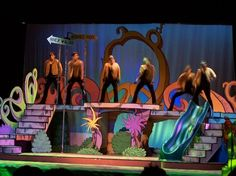 Seussical stage - color ideas