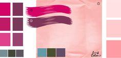 Светло-розовый  цвет, сочетание цветов розовый