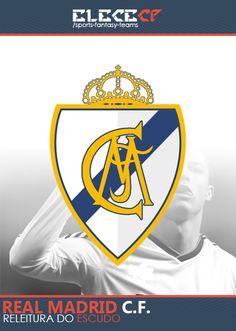 Re-leitura do escudo do Real Madrid.