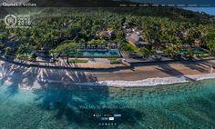 Qunci Villas is a beach-front, boutique hotel and villas located in the Senggigi area of Lombok.