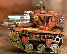 Ork Looted Wagon, Conversion, Warhammer 40k.