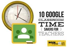 If you and your students are using Google Apps in the classroom, Google Classroom can save you tons of time and effort. It helps you assign, collect, grade and return work seamlessly. But, like anything else, there are tricks that can help you do the same work in less time. They make you more efficient […] print